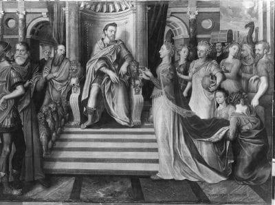 Lucas de Heere, Philip II as Solomon, St. Bavo's Cathedral, Ghent