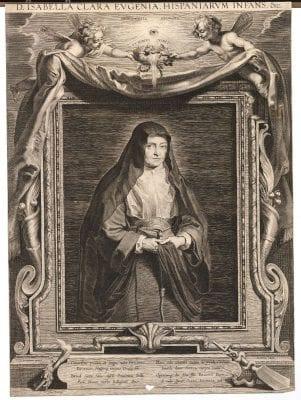 Paulus Pontius, after Peter Paul Rubens, D. Isabella Clara Eugenia, Hispaniarum Infans &c, ca. 1626, British Museum, London