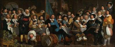 Bartholomeus van der Helst, Company of Captain Cornelis Witsen and Lieutenan, 1648, Rijksmuseum, Amsterdam