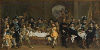 Johannes Spilberg, The Company of Captain Jan van de Poll and Lieut, 1650, Amsterdam Museum