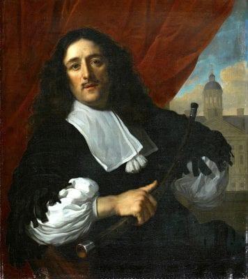 Lodewijk van der Helst, Portrait of Michiel Servaesz.Nouts, 1670, Amsterdam Museum