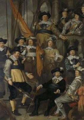 Govert Flinck, Company of Albert Bas and Lucas Conijn, 1645, Rijksmuseum Amsterdam