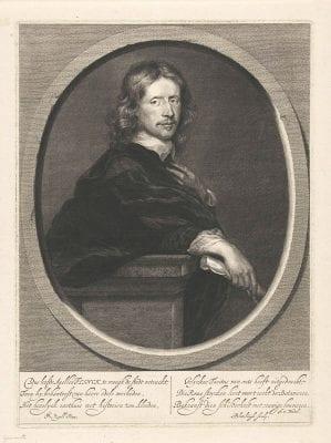 Abraham Bloteling after Gerard Pietersz van Zijl, Portrait of Govert Flinck, ca. 1660–90, Rijksmuseum Amsterdam