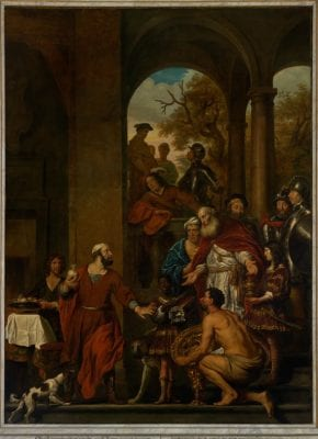 Govert Flinck, Marcus Curius Dentatus, 1656, Royal Palace, Amsterdam