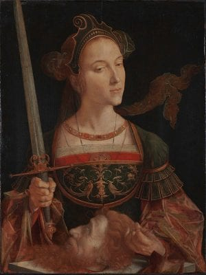 Jan Cornelisz. Vermeyen,  Judith with the Head of Holofernes, ca. 1525–30, Private collection