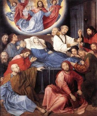 Hugo van der Goes, Death of the Virgin, ca. 1480, Groeninge Museum, Bruges