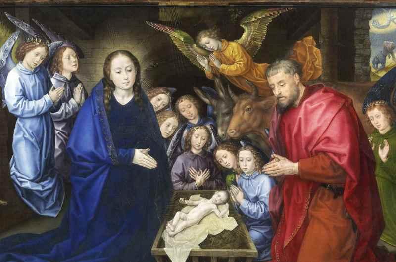 Hugo Van Der Goes Adoration Of The Shepherds