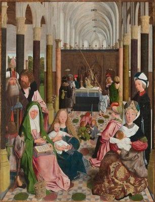 Geertgen tot Sint Jans (or workshop), Holy Kinship, 1496, Rijksmuseum, Amsterdam
