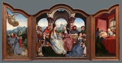 Quentin Massys, Saint Anne Altarpiece, 1507–8, Museum of Fine Arts, Brussels