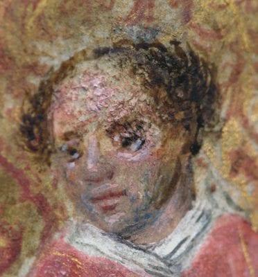 Simon Marmion, Donne Hours:Saint Leonard, detail, ca. 1480, Louvain-la-Neuve, Archives de l'Université
