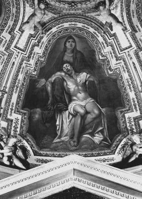 Angelo Caroselli, Pietà, ca. 1611–12, Vittrice Chapel, Santa Maria in Vallicella, Rome