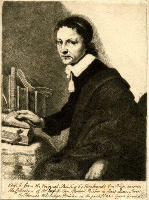 Thomas Worlidge, Portrait of an Unidentified Man, after Rembrandt, ca. 1757–58, The British Museum, London
