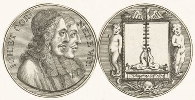 Anonymous, Medal Commemorating the Death of Cornelis and Jo, Rijksmuseum, Amsterdam