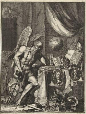 Coenraet Decker, Allegory on the Death of Johan and Cornelis de W, 1678, Rijksmuseum, Amsterdam