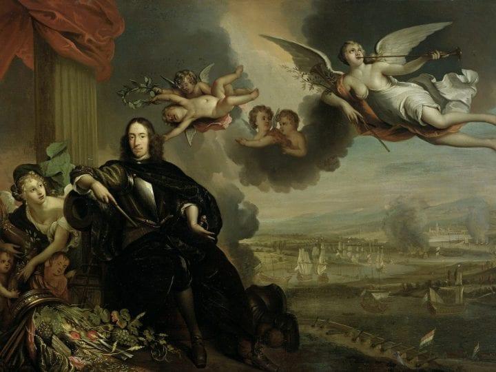 Probably copy after Jan de Baen, The Glorification of Cornelis de Witt, with the , Rijksmuseum, Amsterdam