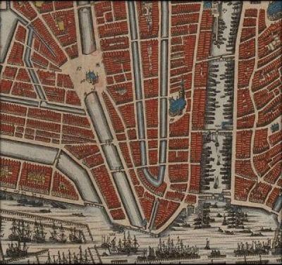 Daniel Stalpaert, published by Nicolaes Visscher, Amstelodami Veteris et Novissimae Urbis Accuratiss, ca. 1662, University of Amsterdam Library, Amsterdam
