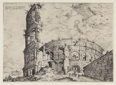 Hieronymus Cock, View of the Colosseum, 1551,