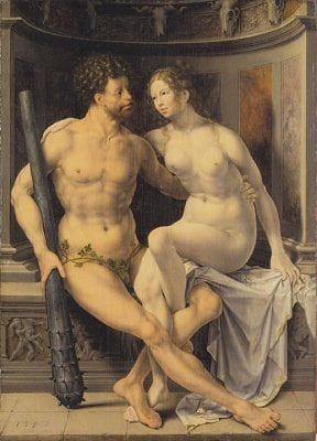 Jan Gossart, Hercules and Deianira, 1517, University of Birmingham (England), Barber Institute of Arts