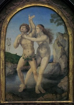 Jan Gossart, Hermaphroditus and Salmacis, ca. 1517, Museum Boymans Van Beuningen, Rotterdam