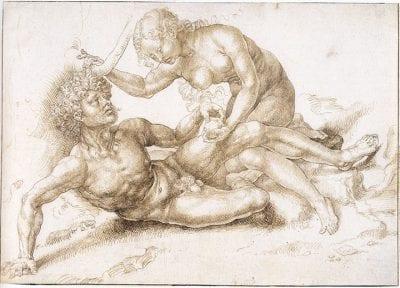 Jan Gossart, Adam and Eve, ca. 1520–25, Städel Museum, Frankfurt