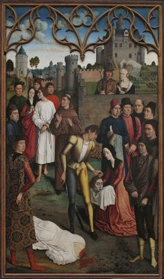 Dirck Bouts, The Justice of Emperor Otto: The Execution of th, ca. 1475, Musées des Beaux-Arts, Brussels