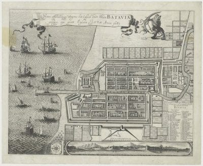 Unknown, Waere affbeeldinge Wegens het Casteel ende Stadt, 1681, Nationaal Archief, The Hague