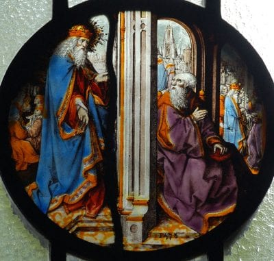 The Lord Appearing to Abraham,  Old Baptist College, Bristol University, Bristol, England
