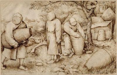 Copy after Pieter Bruegel, The Beekeepers, 1540–69, British Museum