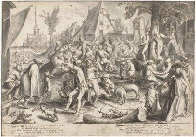 Karel van Mander, Peasant Kermis, 1592, Rijksmuseum, Amsterdam
