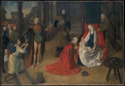 Justus van Ghent, Adoration of the Magi, ca. 1470, The Metropolitan Museum of Art, New York
