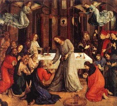 Justus van Ghent, Communion of the Apostles, ca. 1473–76, Museo Nazionale delle Marche, Urbino