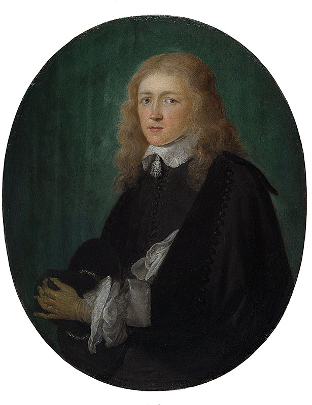 Gerrit Dou,  Portrait of Dirck van Beresteyn,  ca. 1652,  The Leiden Collection, New York