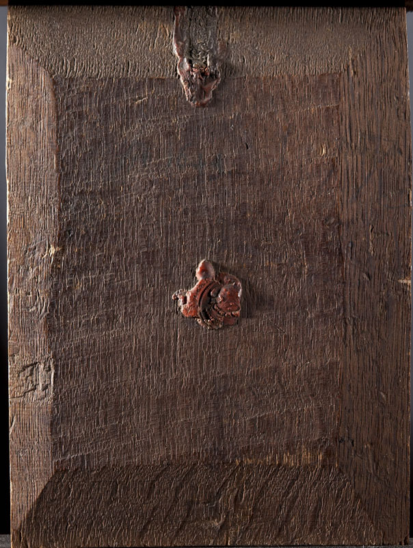 Gerrit Dou, Hermit Praying, verso,  ca. 1665–70,  The Leiden Collection, New York