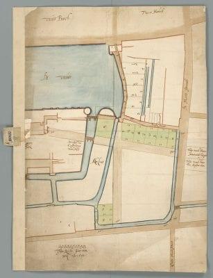 Plan 3308B, final version, Nationaal Archief, The Hague