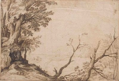 Paul Bril, copy of A View of a Valley, with a Copse in the F, ca. 1604, Sotheby's, London, 2004