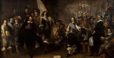 Govert Flinck,  Civic Guardsmen of the Company of Captain Joan H, Amsterdam Museum