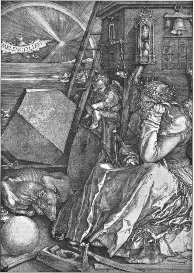 Albrecht Dürer, Melancolia,  monogrammed and dated 1514,  Rijksmuseum, Rijksprentenkabinet, Amsterdam