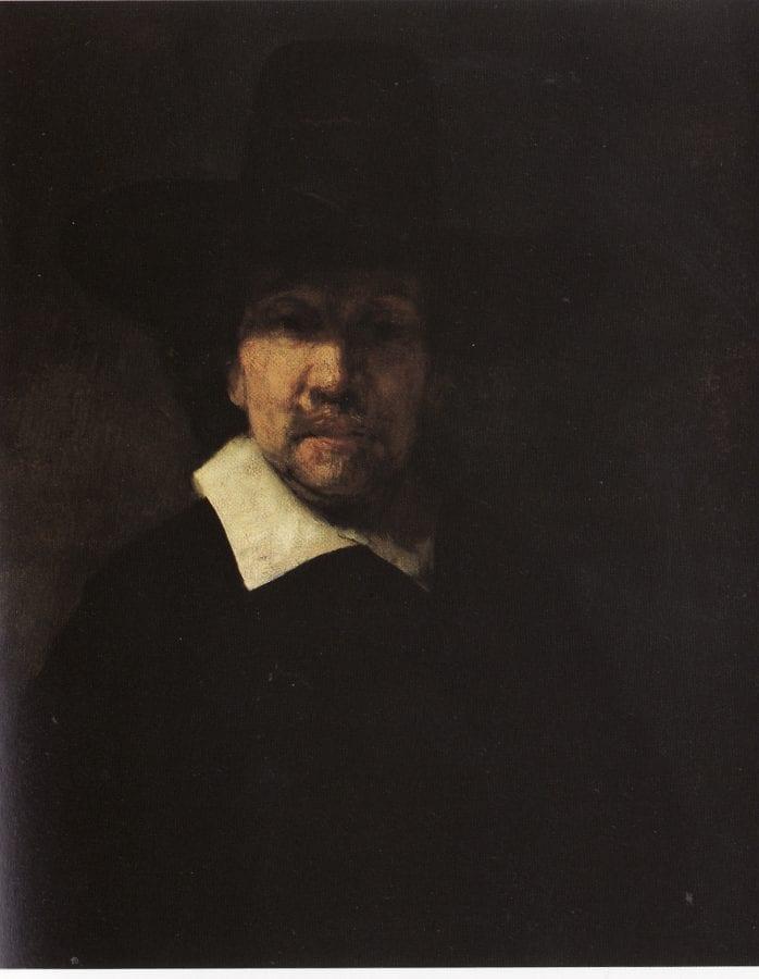 Rembrandt van Rijn, Portrait of Jeremias de Decker,  dated 1660 or 1666,  State Hermitage Museum, Saint Petersburg