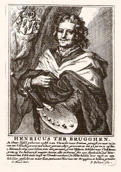 Pieter Bodart (after Gerard Hoet), Portrait of Hendrick ter Brugghen,  ca. 1706,