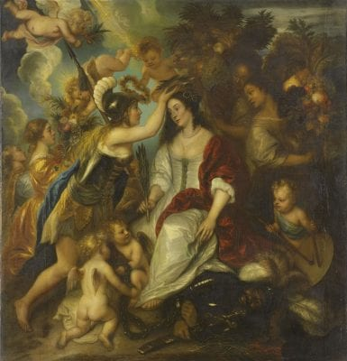 Jan Lievens,  Allegory of Peace, 1652, Rijksmuseum, Amsterdam