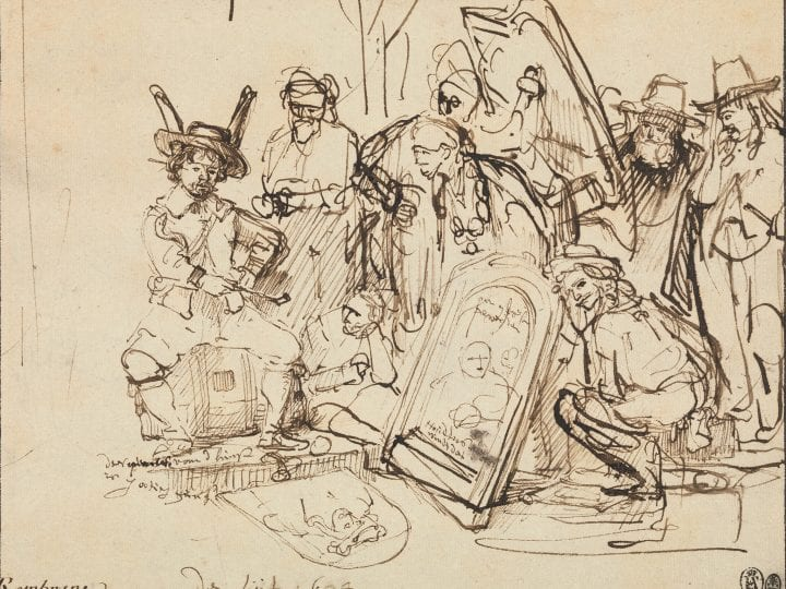 The Catalyst for Rembrandt's <em>Satire on Art Criticism</em>