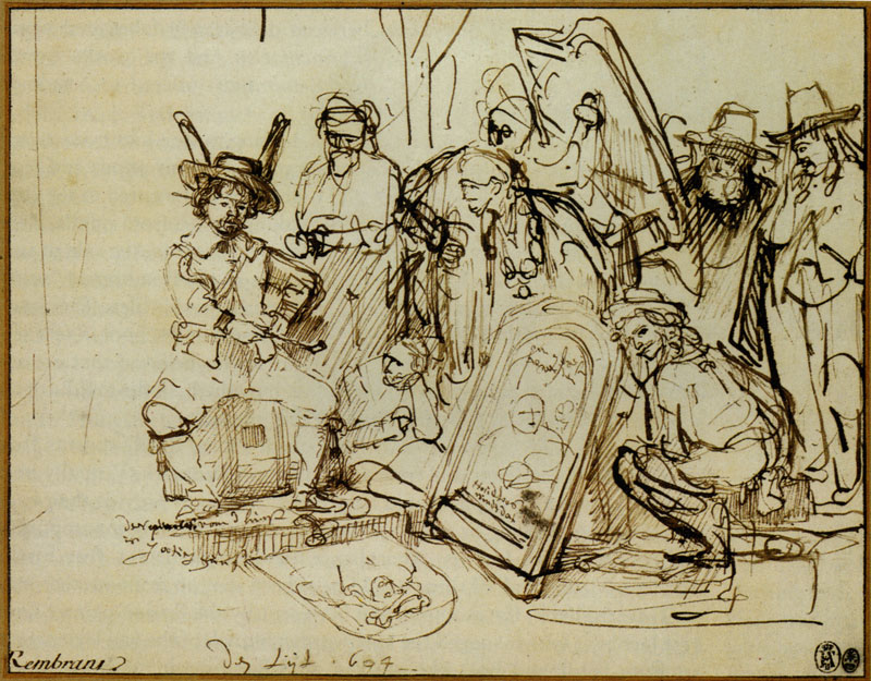 The Catalyst For Rembrandt S Satire On Art Criticism Journal Of
