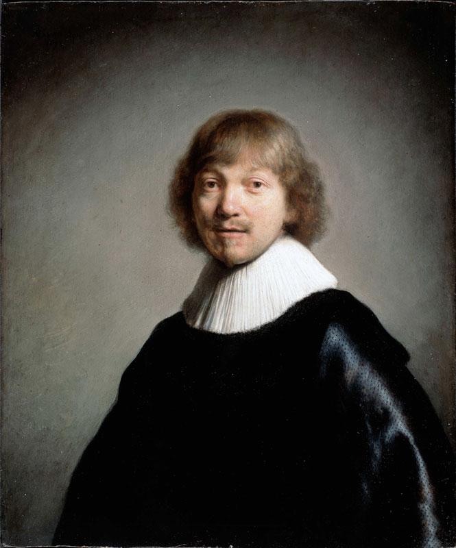 Rembrandt, Portrait of Jacques de Gheyn III, 1633,  Dulwich Picture Gallery, London