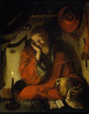 Aertgen van Leyden, Saint Jerome, 1520, Rijksmuseum, Amsterdam