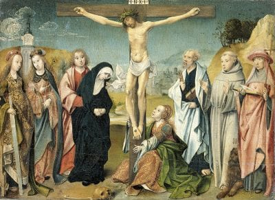 Attributed to Cornelis Engebrechtsz and his workshop,  Crucifixion, ca. 1505, Rijksmuseum Amsterdam