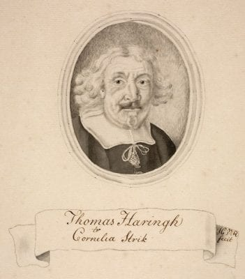 J. C. van Royen (after an unknown portrait),  Portrait of Thomas Haringh, Ikonographisch Bureau, Rijksbureau voor Kunsthistorische Documentatie, The Hague