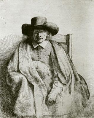 Rembrandt, Clement de Jonghe, 1651,