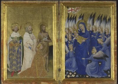 Anonymous, Wilton Diptych, ca. 1395-99, National Gallery, London