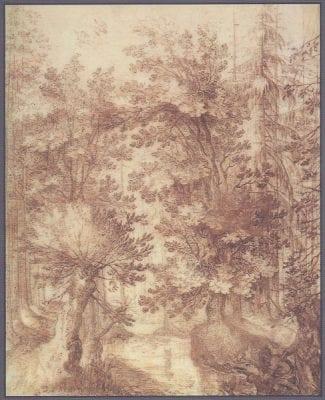 Philips van den Bossche (?), ForestLandscape with Tobias and the Angel, Rotterdam, Museum Boijmans Van Beuningen