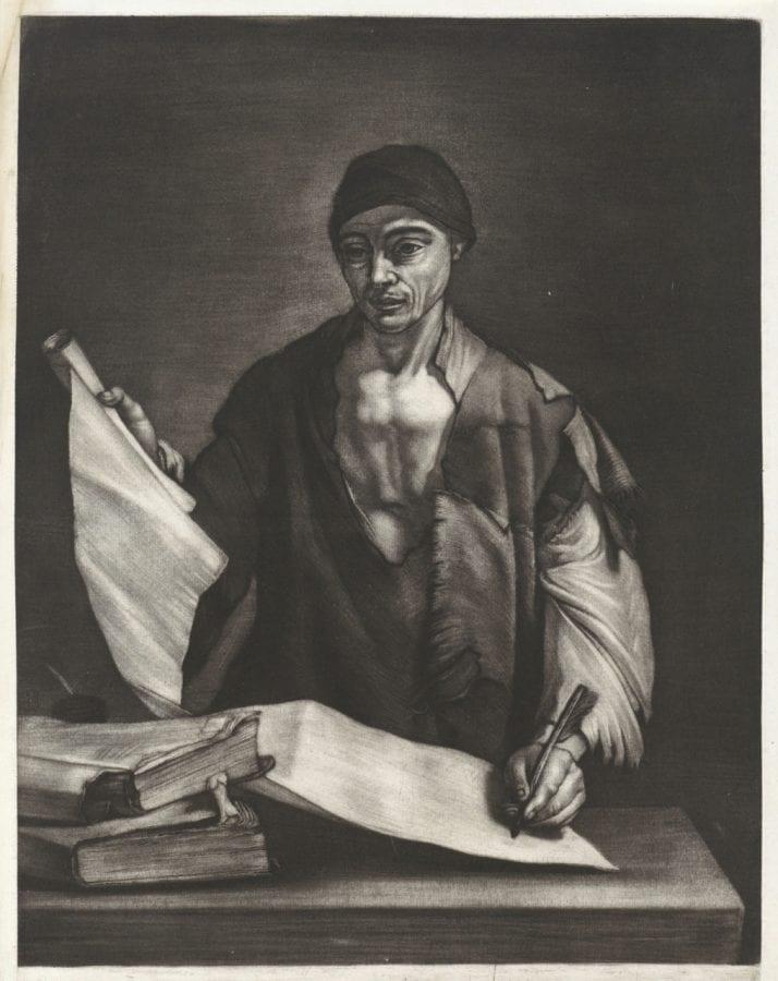 Bernard Vaillant, after Jusepe de Ribera, Philosopher, 1672, Rijksmuseum, Amsterdam